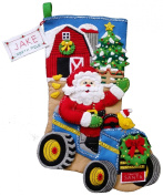 Christmas on the Farm Felt Stocking Kit
