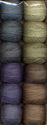 Valdani Size 12 Perle Cotton Embroidery Thread As Time Goes By Collection 3
