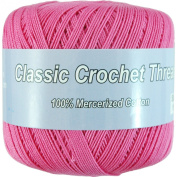 Crochet Thread - Size 10 - Colour 35 - HOT PINK