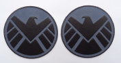 Avengers Movie Shield Costume Shoulder Patch Set of 2 [8.9cm ]