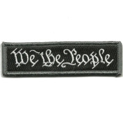 We The People - Tactical Morale Patch - Black/White by Gadsden and Culpeper