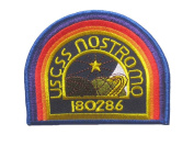 "The Alien Aliens U.S.C.S.S. NOSTROMO Uniform Crew LOGO sew iron on Patch Badge Embroidery 7.5x10 cm 3x4"" AL-01"