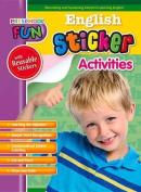 Preschool Fun - English Sticker Activities