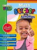 Preschool Fun - Math Sticker Activities