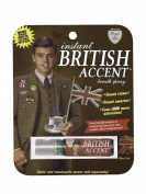 "Blue Q Gag Gift ""Intant British Accent"" Breath Spray"