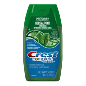 Crest Complete Multi-Benefit Whitening Plus Extreme Herbal Mint Expressions Liquid Gel Toothpaste 140ml