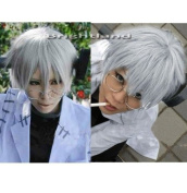 Flyingdragon Soul Eater Stein Short Grey Fashion Cosplay Hair New Wig