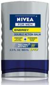 Nivea For Men Q10 Energy Double Action Balm, 100ml Bottles