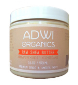 100% Unrefined Organic Raw Shea Butter - Best Pure Premium Grade A - Ivory - Rich in Vitamins A & E - For Natural Skin & Hair Care - Excellent for Use as a Daily Moisturiser - Essential Ingredient for Natural DIY Body Butters, Lotions, Soaps & Other Re ..