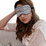 eYourlife2012 100% Pure Silk Filled Eye Mask Sleeping Mask Eyepatch Blinder Print