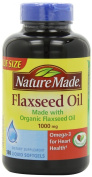Nature Made Flaxseed Oil 1,000 mg Softgels, 180 ct