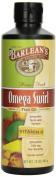 Barlean's Mango Peach Fish Oil Omega Swirl, 470ml-Packing May Vary