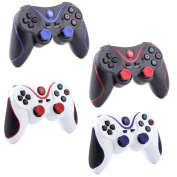 4 Pack Combo Wireless Bluetooth Game Pad Controller For Sony Playstation 3 PS3