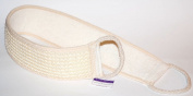 Exfoliating Sisal back strap