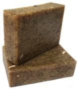 ATTIS Neem Exfoliating Handmade Natural Soap | Vegan | with Neem oil, Neem stick & leaf powder and Tea Tree Essential Oil