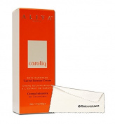 Aliya Paris Carotiq Skin Whitening/ Lightening Carrot Intense Cream - 50g with YouLookLight Screen /Phone Cleaning Cloth