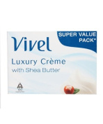 Vivel Luxury Creme With Shea Butter Soap (76g) Pack of 4
