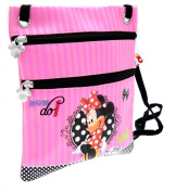 MINNIE MOUSE PINK HANDBAG CROSS BODY BAGS SHOULDER SOFT LEATHER OFFICIAL licenced PRODUCT