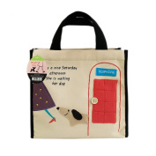 [Dog At Phone Booth] Lunch Tote