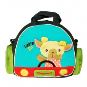 [Joyce Sheep] Embroidered Applique Shoulder Bag Swingpack