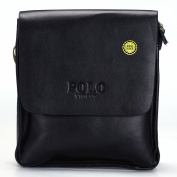 VIDENG POLO® Newest RFID Blocking Secure Men's Leather Briefcase Shoulder Messenger Bag