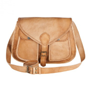 81stgeneration Genuine Vintage Satchel Shoulder Bag College Work City Casual Everyday Messenger Bag