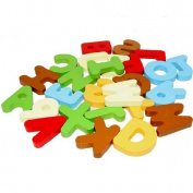 Ukamshop(TM)26PCS A-Z Letters Alphabet Figure Children's Educational Wooden Toys