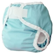 Thirsties Large Nappy Cover (Innovative Design Provides A Snug, Yet Comfortable Fit) - Aqua Baby / Child / Infant / Kid