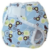 Thirsties Large Nappy Cover (Innovative Design Provides A Snug, Yet Comfortable Fit) - Blue Baby / Child / Infant / Kid