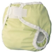 Thirsties Large Nappy Cover (Innovative Design Provides A Snug, Yet Comfortable Fit) - Butter Baby / Child / Infant / Kid