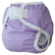 Thirsties Large Nappy Cover (Innovative Design Provides A Snug, Yet Comfortable Fit) - Lavender Baby / Child / Infant / Kid