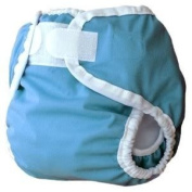 Thirsties Large Nappy Cover (Innovative Design Provides A Snug, Yet Comfortable Fit) - Ocean Baby / Child / Infant / Kid