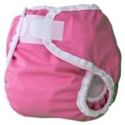 Thirsties Large Nappy Cover (Innovative Design Provides A Snug, Yet Comfortable Fit) - Raspberry Baby / Child / Infant / Kid