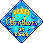 TORQ BROTHERS Baby on Board Car Window Sign