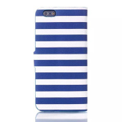 For iPhone 6 case , inShang Apple IPHONE 6 CASE Feature Fashion Stripe element, With Useful Wallet Design For iPhone 6