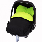 iSafe Buddy Jet Carseat Footmuff - Lime