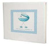 baby record book,baby memory book,baby Boy Guest Book,Blue Pram