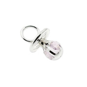 Silver Plated Pink Crystal Gift Dummy