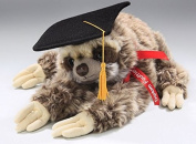 Soft Toy Sloth Graduate 30cm. [Toy]