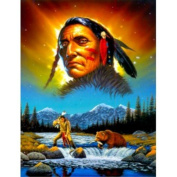 Chief Great Bear Chris Hiett Small Wall Sign Gifts, and, Cards Gift, Idea Occasion, Gift, Idea