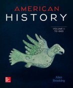 American History V1 /Cnct+ 1 Term