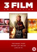 The Book Thief/Life of Pi/Never Let Me Go [Region 2]