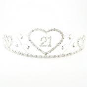Crystal/ Diamante 21st Birthday Tiara/ Headband