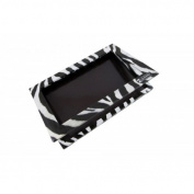 1 x Z Palette Large Zebra (Black & White Design) Customizable Makeup Palette - Empty