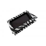 1 x Z Palette Large Zebra (Black & White Design) Customizable Makeup Palette - Empty
