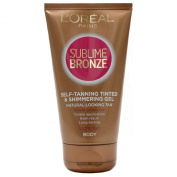 L'Oreal Sublime Bronze Tinted Gel 78113 150ml