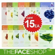 The Face Shop Living Nature Grind Mask Sheet x 15pcs