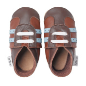 Bobux BB 4256 Baby Sports Shoes Brown/Blue