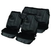 Universal fit water resistant nylon full set seat protectors