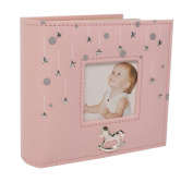 Baby Girl Stars Photo Album Gift 200cm x 15cm x 10cm